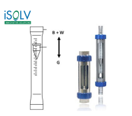 Variable Area Flowmeter iSOLV GTG20  Glass Tube Variable Area Flowmeter